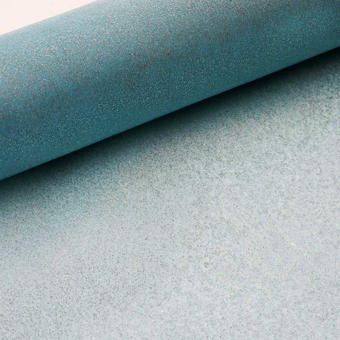 "Glittering Organza Fabric Bolt -Turquoise-12""x10 YARDS"