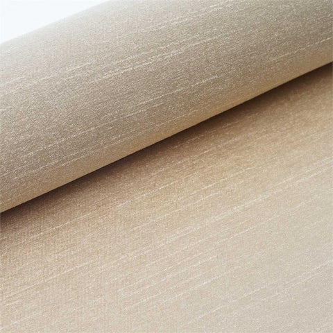 "Premium Slub Polyester Bridal Dress Fabric Bolt By Yard - Champagne - 12""x10 Yards"