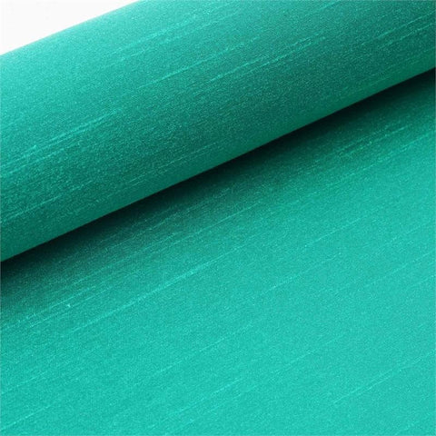 "Premium Slub Polyester Bridal Dress Fabric Bolt By Yard - Emerald - 12""x10 Yards"