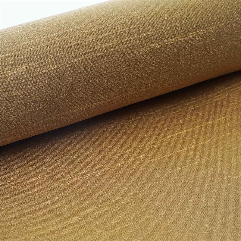 "Premium Slub Polyester Bridal Dress Fabric Bolt By Yard - Gold - 12""x10 Yards"
