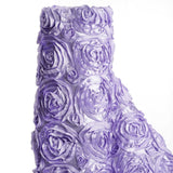 "Wedding Party Wonderland Rosette Fabric Bolt By Yard - Lavender - 54"" x 4 Yards"