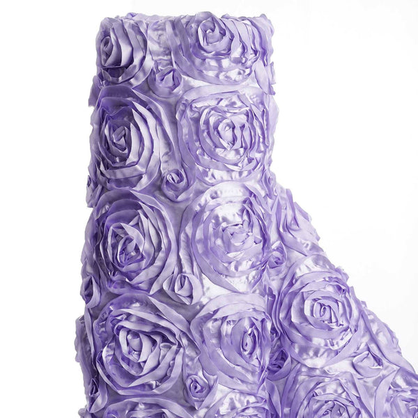 "54"" X 4 Yards Lavender Wonderland Rosette Fabric Bolt"