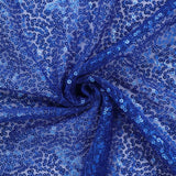 "Extravaganza Duchess Sequin Fabric Bolt - 54"" x 4yards Royal Blue"
