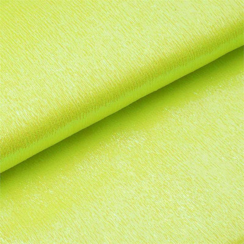"Glossy Polyester Yellow Fabric Roll - 54"" x 10 Yards"