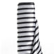 "Satin Stripe Fabric Bolt - Black/White - 54"" x 10 Yards"