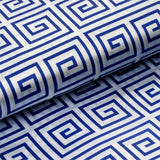 "Greek Inspired Satin Wedding Party Dress Fabric Bolt By Yard - Royal Blue - 54"" x 10 yards"