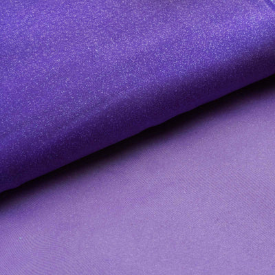 "Wedding Party Craft Organza Fabric Bolt By Yard With Glitters - 54""x10 Yards - Purple"