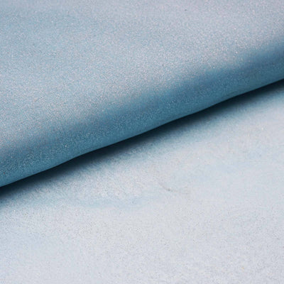 "Wedding Party Craft Organza Fabric Bolt By Yard With Glitters - 54""x10 Yards - Turquoise"