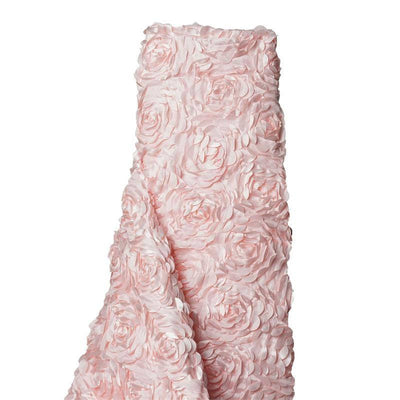 "Paradise Rosette Fabric Bolt  54"" x 4 yards - Blush"