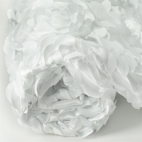 "Paradise Rosette Fabric Bolt 54"" x 4 yards - White"