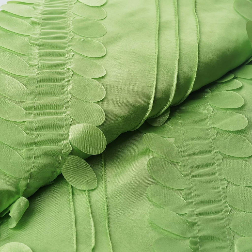 "Paradise Forest Taffeta Fabric Bolt 54"" x 5yards Apple Green"