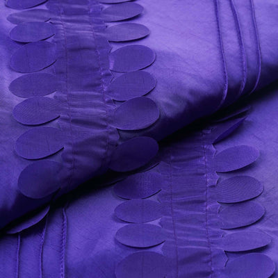 "Paradise Forest Taffeta Fabric Bolt 54"" x 5yards Purple"