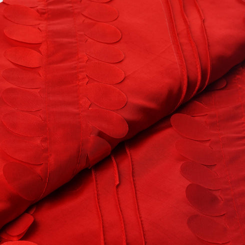 "Paradise Forest Taffeta Fabric Bolt 54"" x 5yards Red"