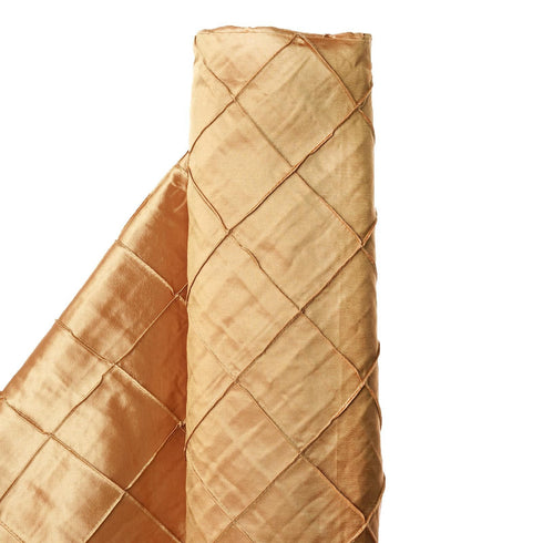 "I LOVE PINTUCKS - 54"" x 10 yards Gold Fabric Bolt"