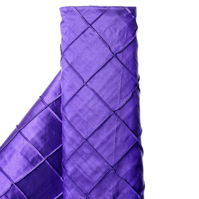 "I LOVE PINTUCKS - 54"" x 10 yards Purple Fabric Bolt"