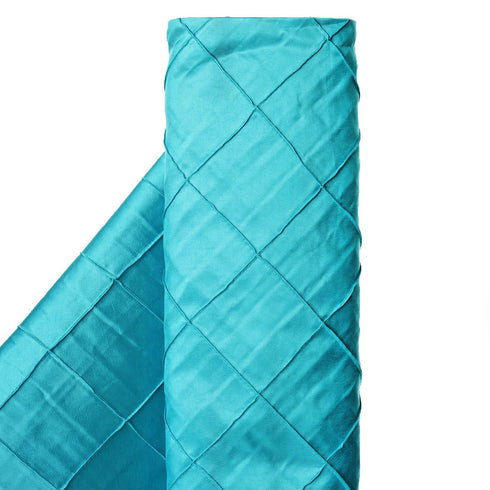 "I LOVE PINTUCKS - 54"" x 10 yards Turquoise Fabric Bolt"