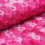 "Ballroom Mini-Rosettes Fabric Bolt Fushia / Rose Quartz / Pink 54"" x 4 yards"