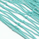 5Ft x 5Ft Turquoise Cotton Decorative Fishing Net, Rustic Beach Decor