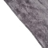 "5 Yards | Charcoal Grey | Velvet Fabric Bolt | 65"" Wide  Fabric Roll"
