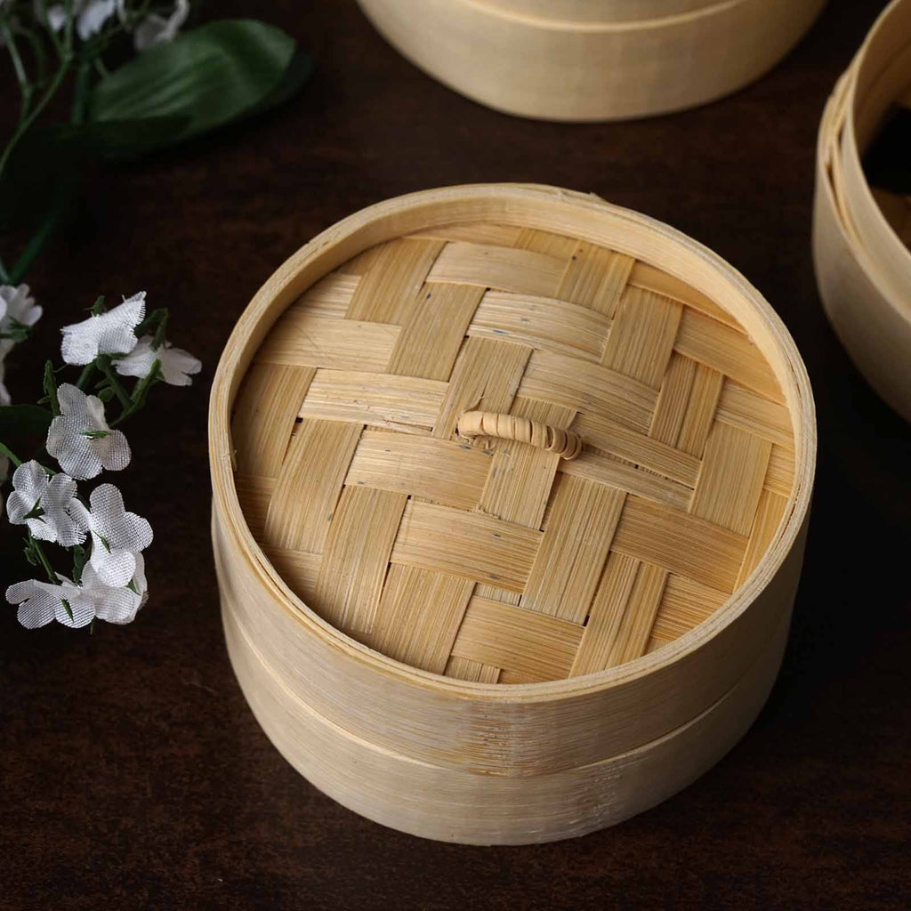 Mini Bamboo Steamer Favors
