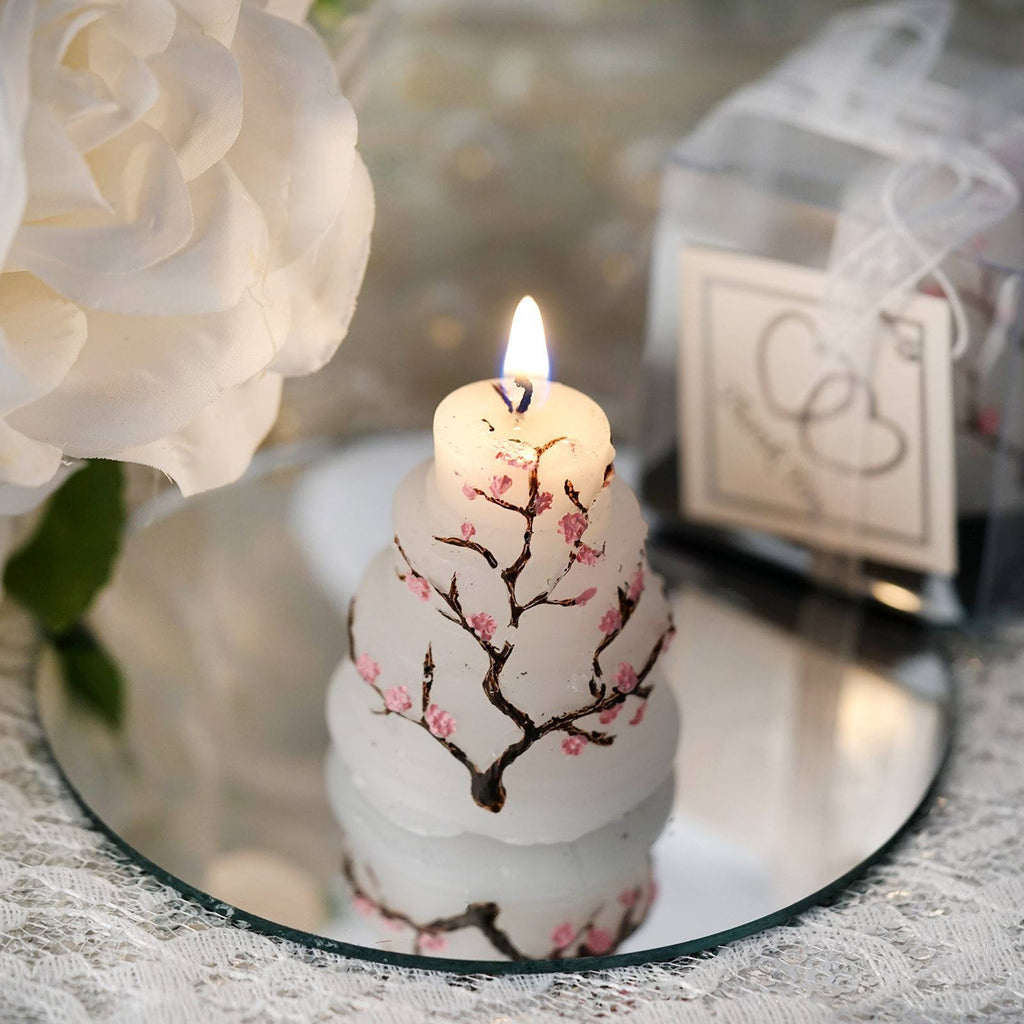 My Happiest Moment! Special Cake Candle Favor - 1 pc Pink