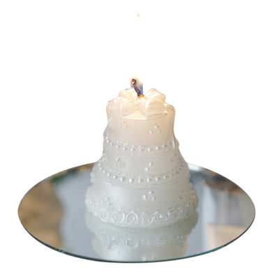 My Happiest Moment! Special Cake Candle Favor - 1 pc White