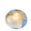 Heart Large Floating Candle  - White