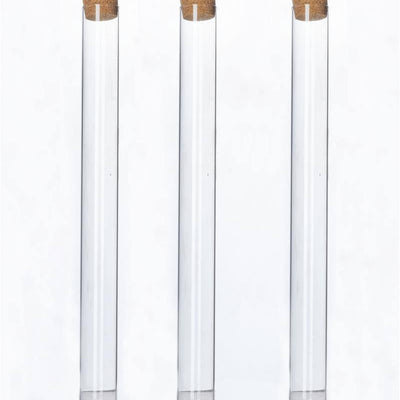 "9"" Perfectly Petite Clear Invitation Favor Tube 12/pk"