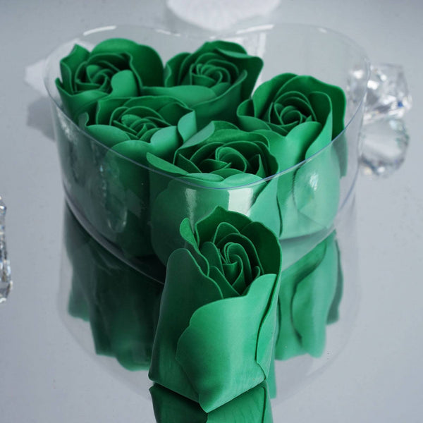 Wholesale Emerald Green Rose Petal Soap Wedding Party Gift