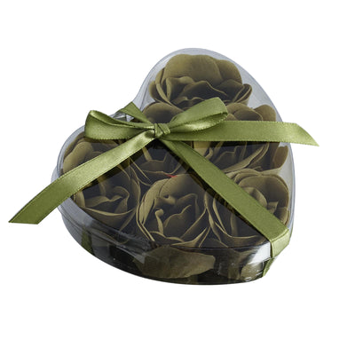 6 Pack Willow Green Scented Rose Flower Bath Shower Soap