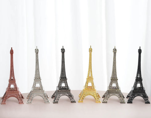 "10""  Eiffel Tower Tabletop Centerpiece- Rose Gold 