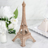 "10"" Rose Gold Eiffel Tower Tabletop Centerpiece"
