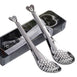 "7"" Stainless Steel Tea Infuser Filtering Spoon Party Favors In Gift Box With Tag"