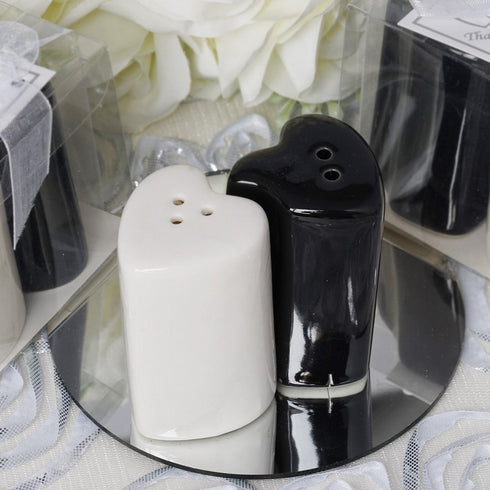Heart Shape Salt & Pepper Favor