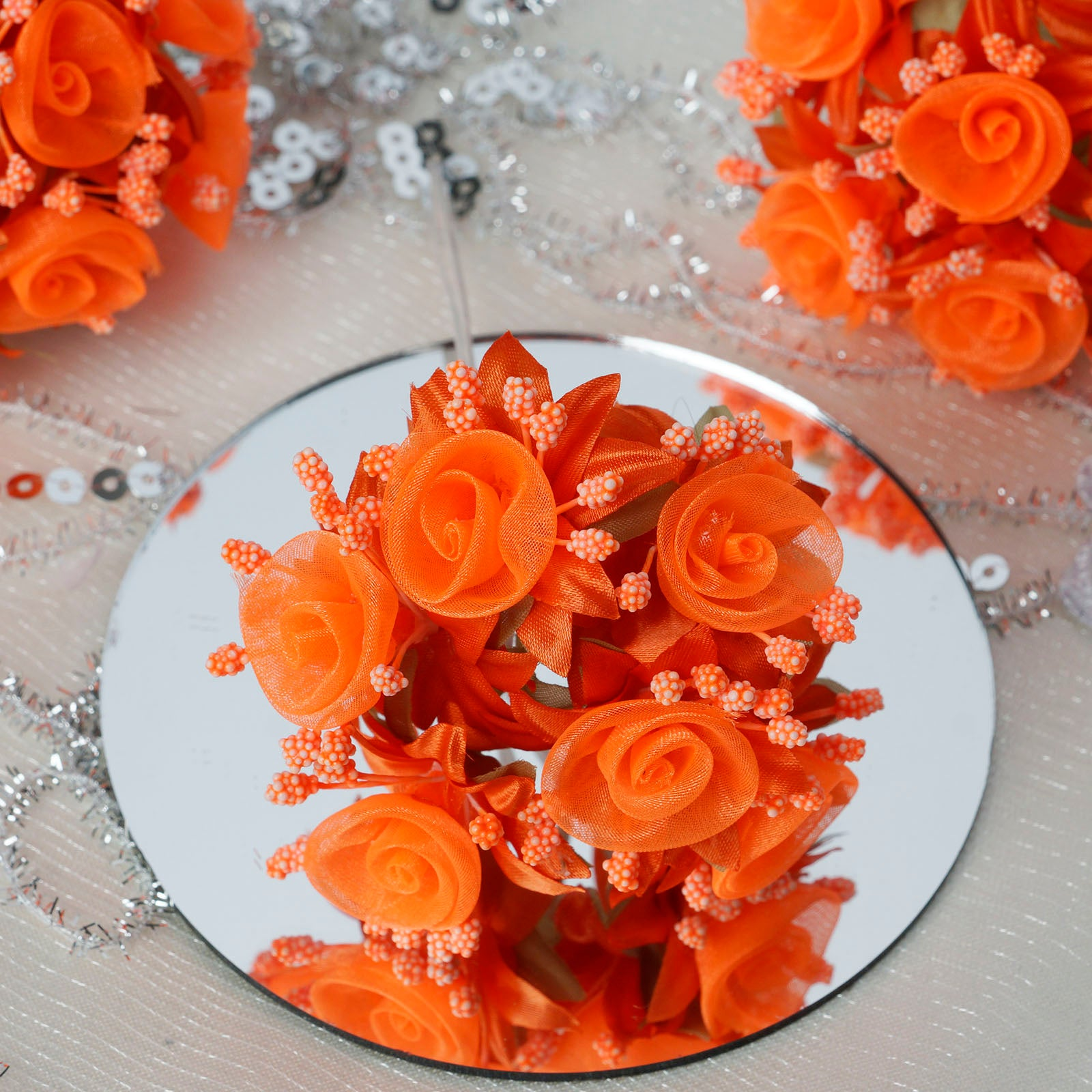 Organza Flower Discount Artificial Flowers Efavormart