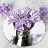 12pcs Lavender Mini Satin Calla Lily