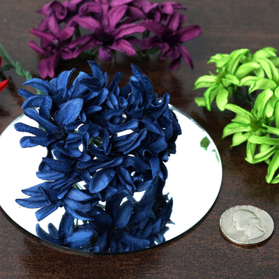 72 Poly Black Hybrid Lily Paper Craft Flowers