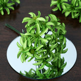 72 Poly Sage Green Hybrid Lily Paper Craft Flowers