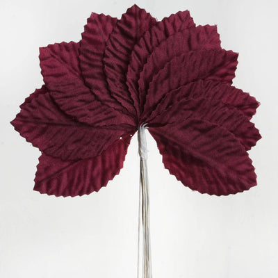 144 Burning Passion Leafs - Burgundy
