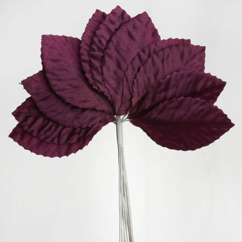 144 Burning Passion Leafs for Craft - Eggplant