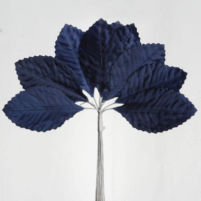 144 Burning Passion Leafs - Navy Blue
