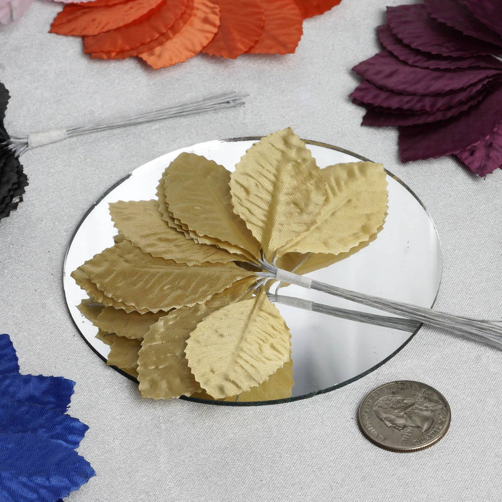 144 Burning Passion Leafs for Craft - Purple