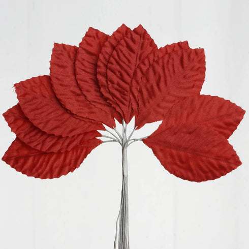 144 Burning Passion Leafs - Red