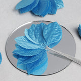 144 Burning Passion Leafs - Turquoise