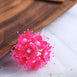 Faux Pearl Decor Flower Braids Corsage Boutineer Craft - Fushia - 72|Pack