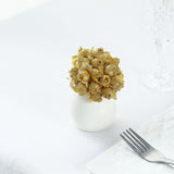 144 All Gold Poly Rose Buds Wedding Bouquet Flowers Decoration