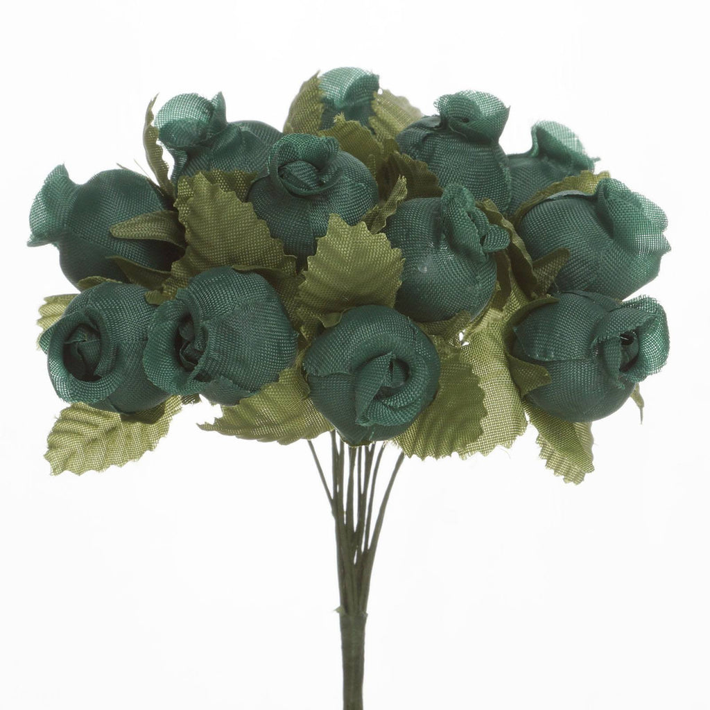 144 Hunter Poly Rose Buds Wedding Bouquet Flowers Decoration( Sold Out )