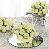 144 Yellow Poly Rose Buds Wedding Bouquet Flowers Decoration