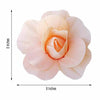 "6 Pack 8"" Large Real Touch Artificial Foam Craft Roses- Rose Gold 