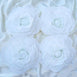 "4 Pack 12"" Large White Real Touch Artificial Foam Backdrop Craft Roses"